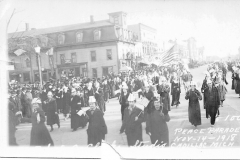 Peace Parade, 1918
