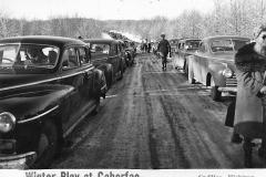 Caberfae Traffic Jam