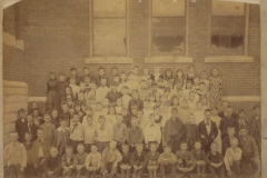 Cadillac-School-Second-Ward-School-Group-1891-1892-Miss-Moss-And-Miss-Bishop-Teachers-2
