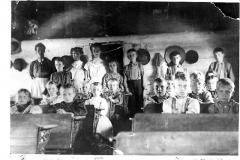 Selma Twp. School Room, 1909