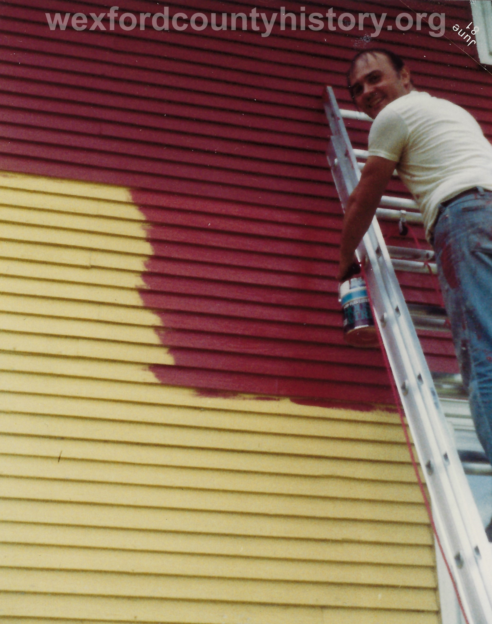 Hobart School Restoration, 1981