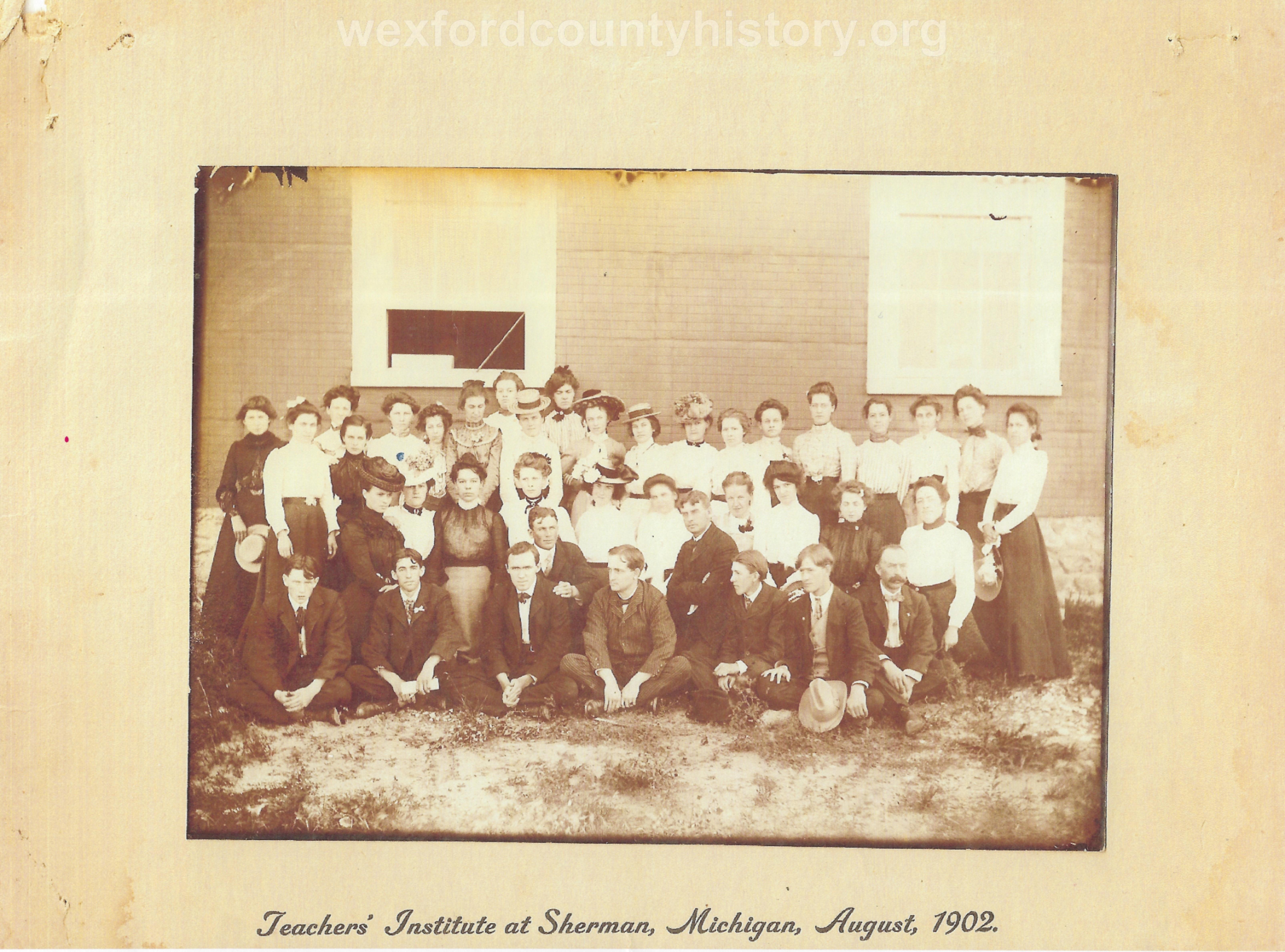 Teacher's Institute In Sherman