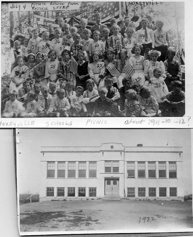 Herby Coll. Hoxeyville Picnic and School