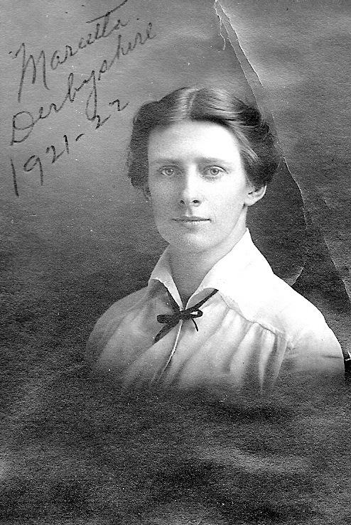 Marietta Derbyshire, Teacher