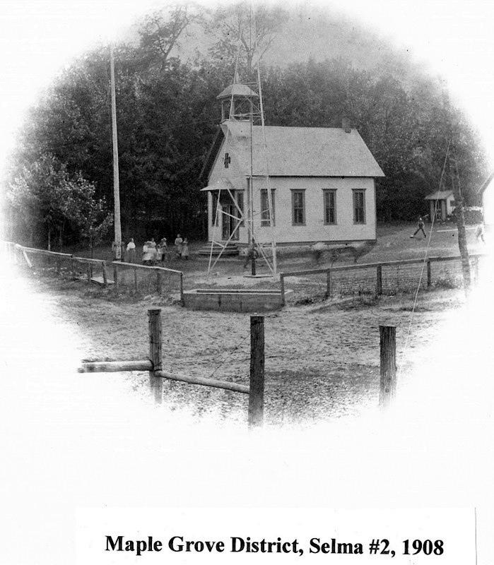 Selma Twp. Maple Grove District, No. Two School