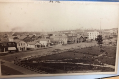 View From Forrester Opera House Looking Northeast, c. 1882