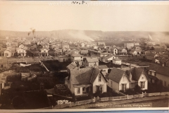 View From Presbyterian Church Looking South, c. 1882