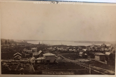 View From The Roof Of The Ayers House Looking Towards Little Clam Lake, c. 1882