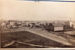 View From Forrester's Opera House Looking South East, c. 1882