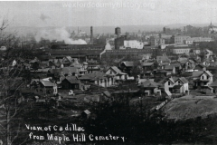 View From Maple Hill Cemetery