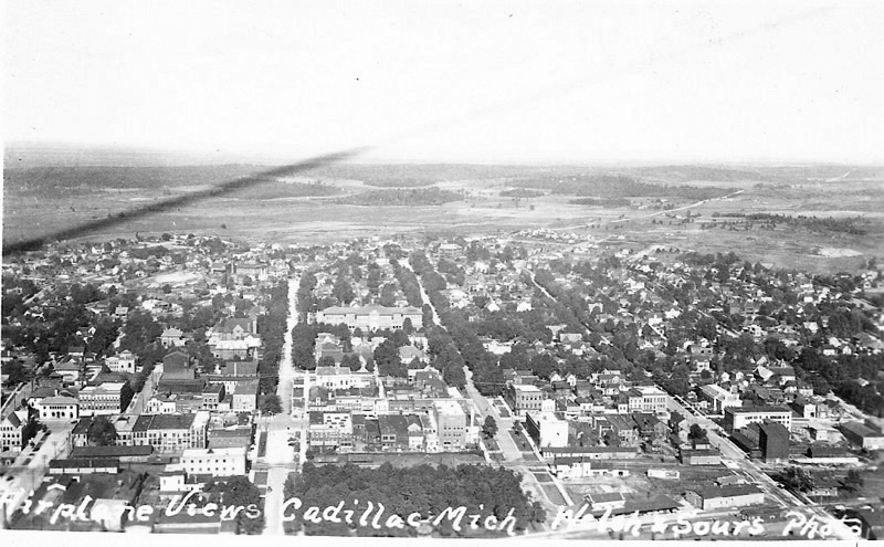 Air View of Early Cadillac
