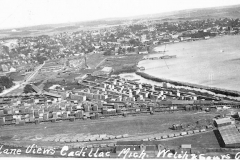 Air View of Cadillac