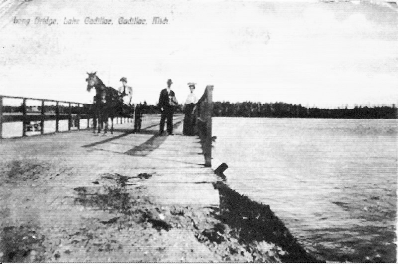 Long Bridge on Lake Cadillac