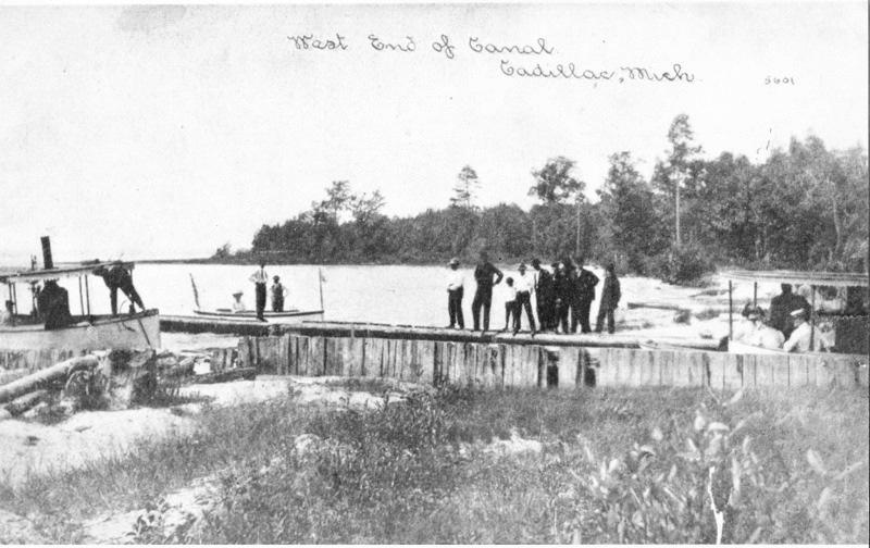 Canal at Lake Mitchell