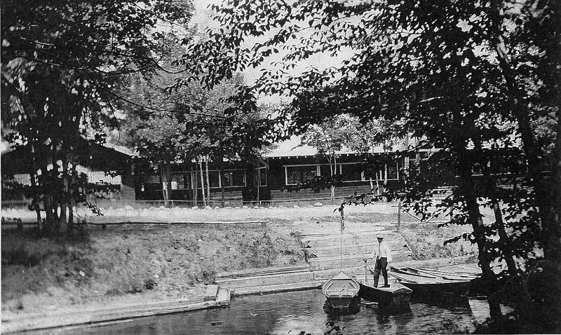Pavilion at the Canal