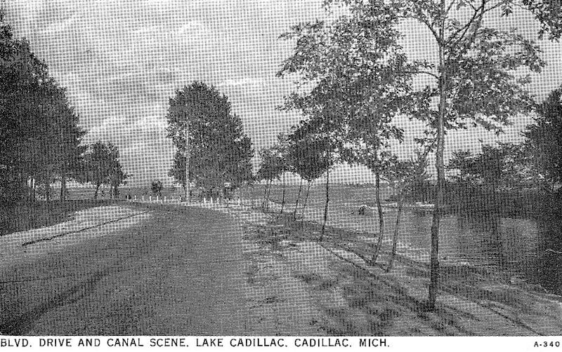 Canal at Lake Cadillac