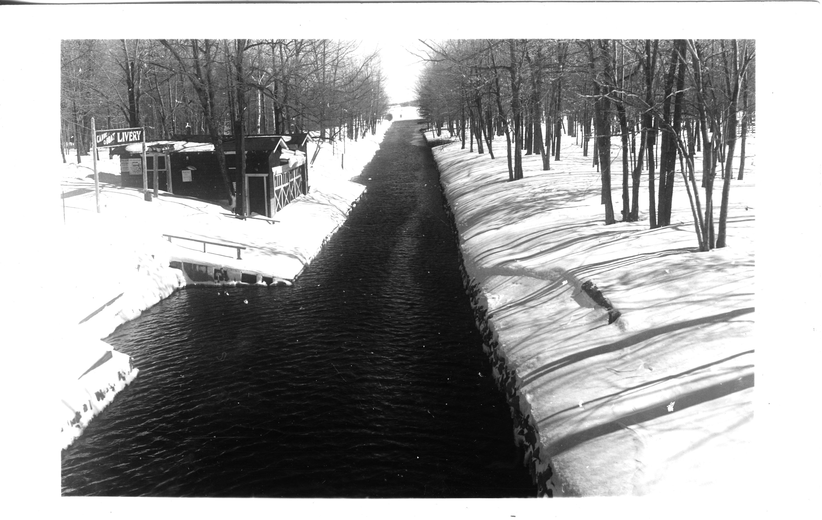 Canal During Wintertime