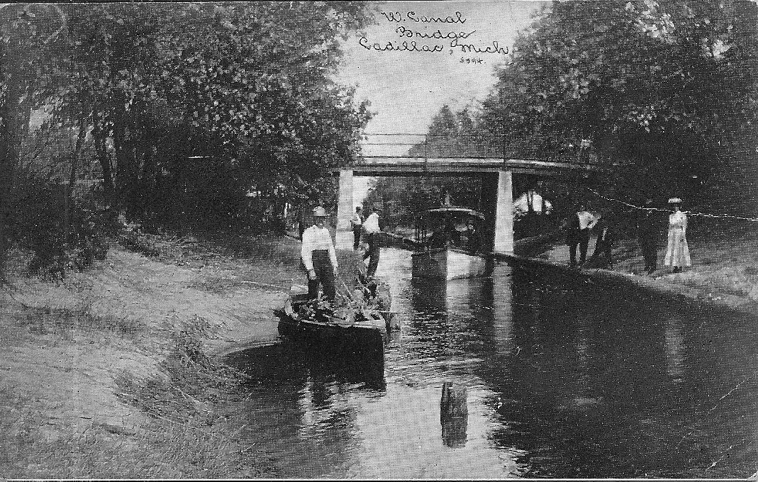 Steamboat in the Canal