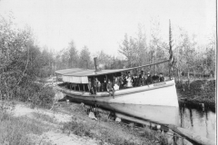 Steamboat A.E.Brooks in Canal