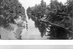 Canal in the 1880