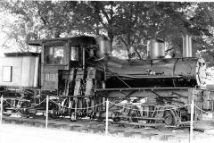 Shay Locomotive on Display