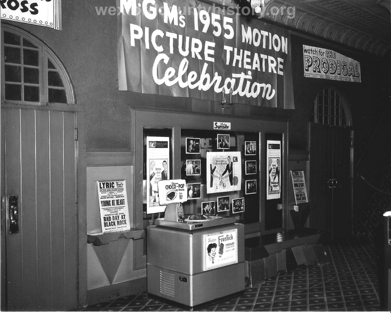 The Lyric Theatre Interior in the 1950s