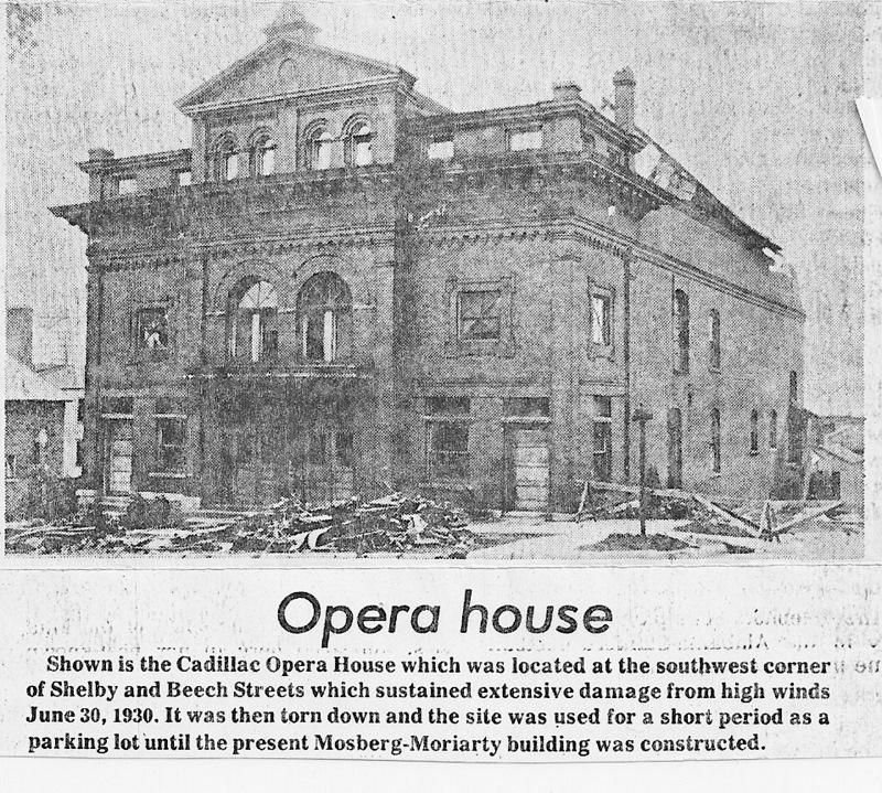 The Cadillac Opera House
