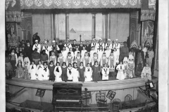 A Theatre Cast On Stage At The Cadillac Opera House