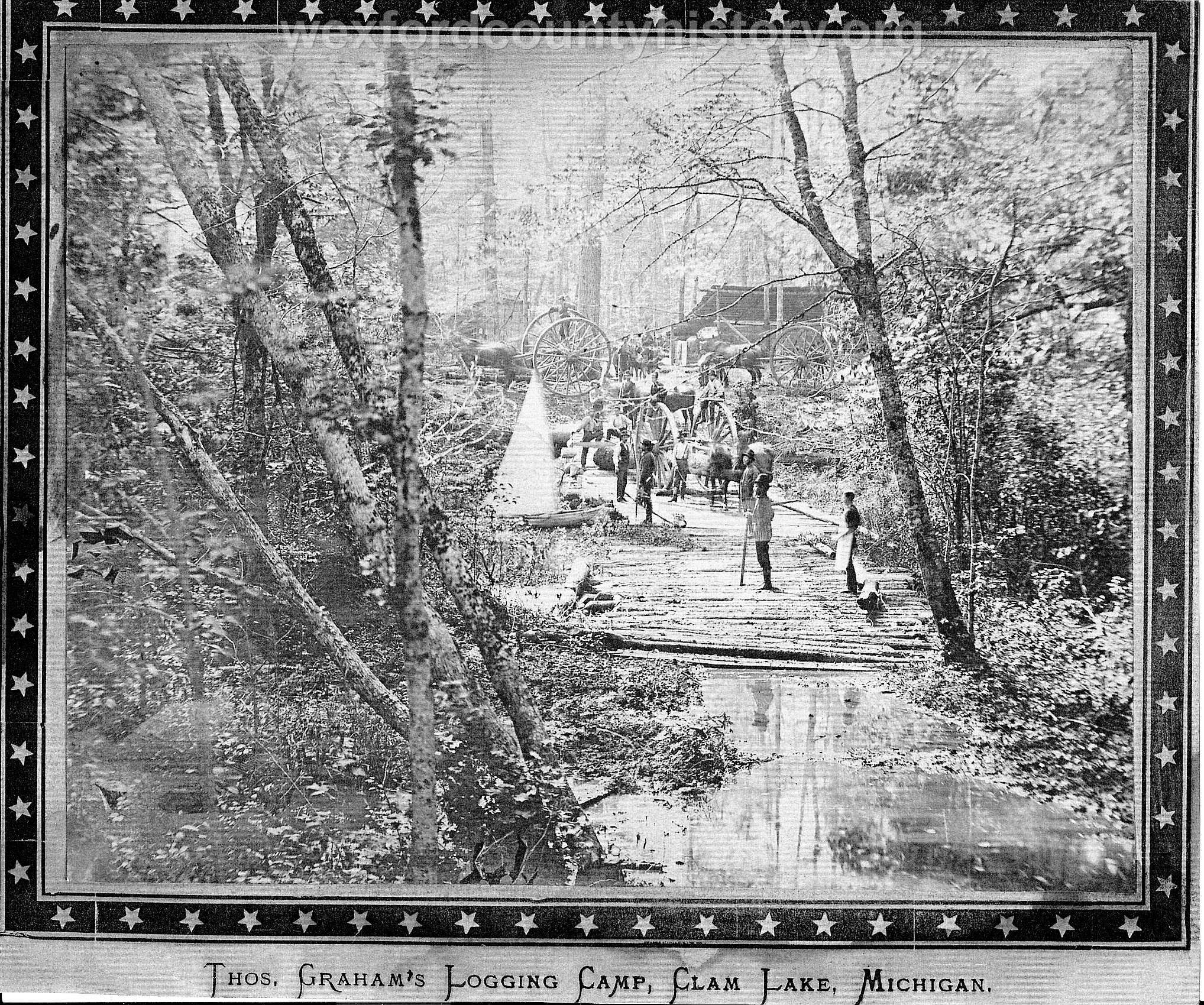 Cadillac-Lumber-Grahams-Logging-Camp