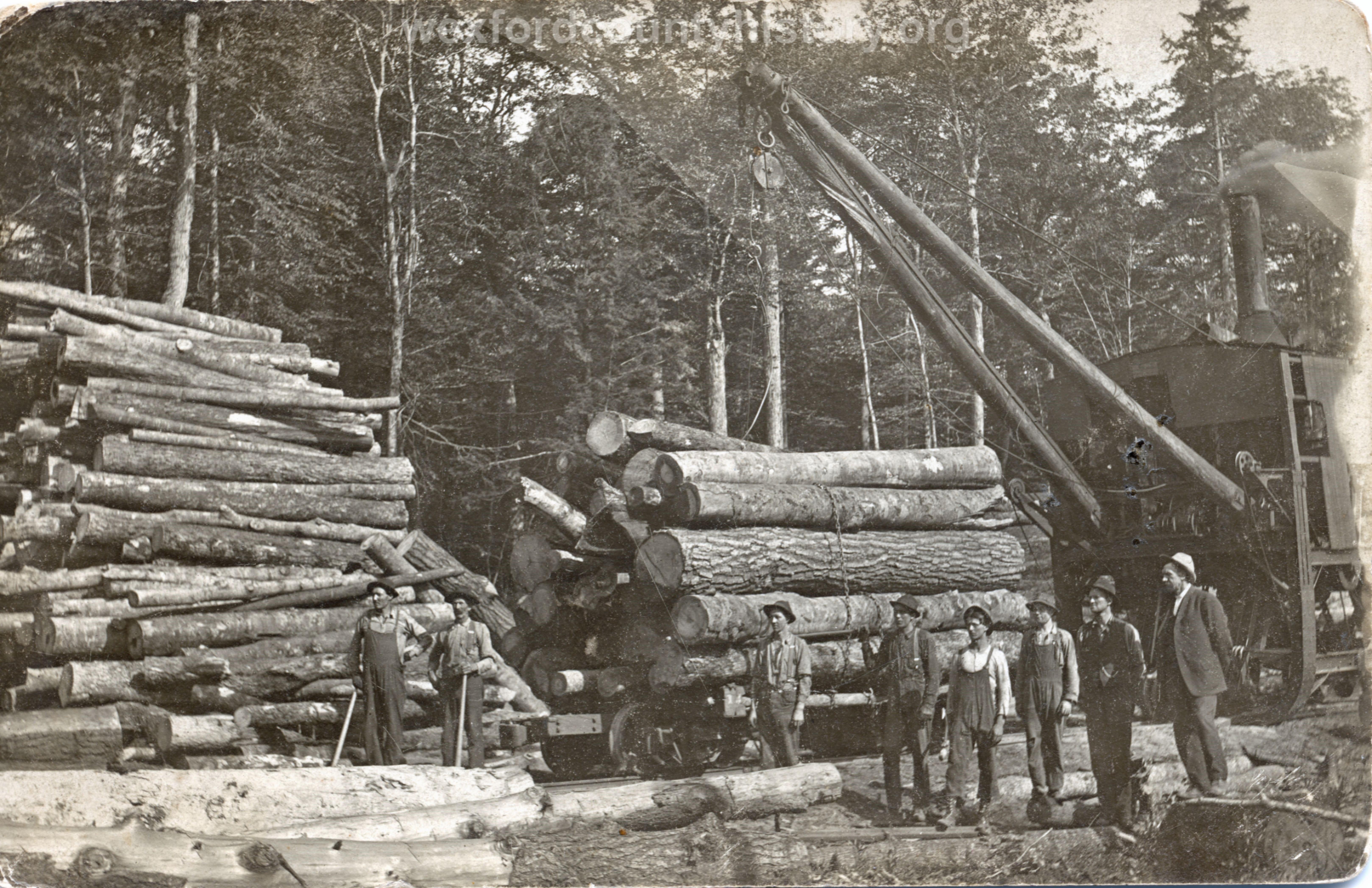 Cadillac-Lumber-Log-Loader