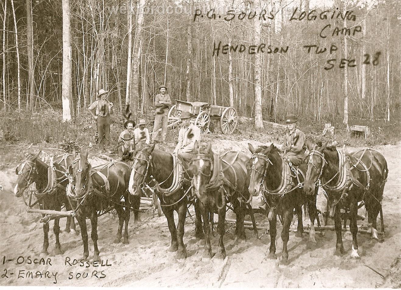 Cadillac-Lumber-Sours-Timber-Camp