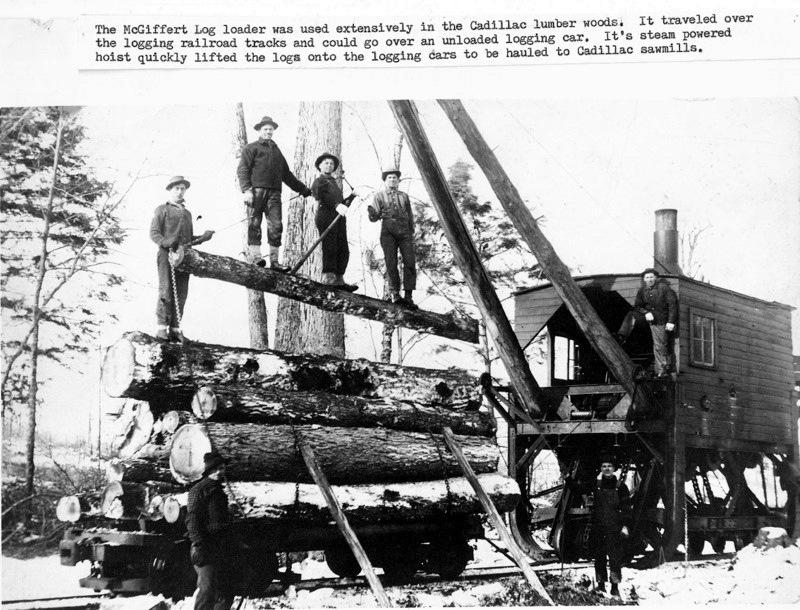 Loading Logs for Rail Shipment
