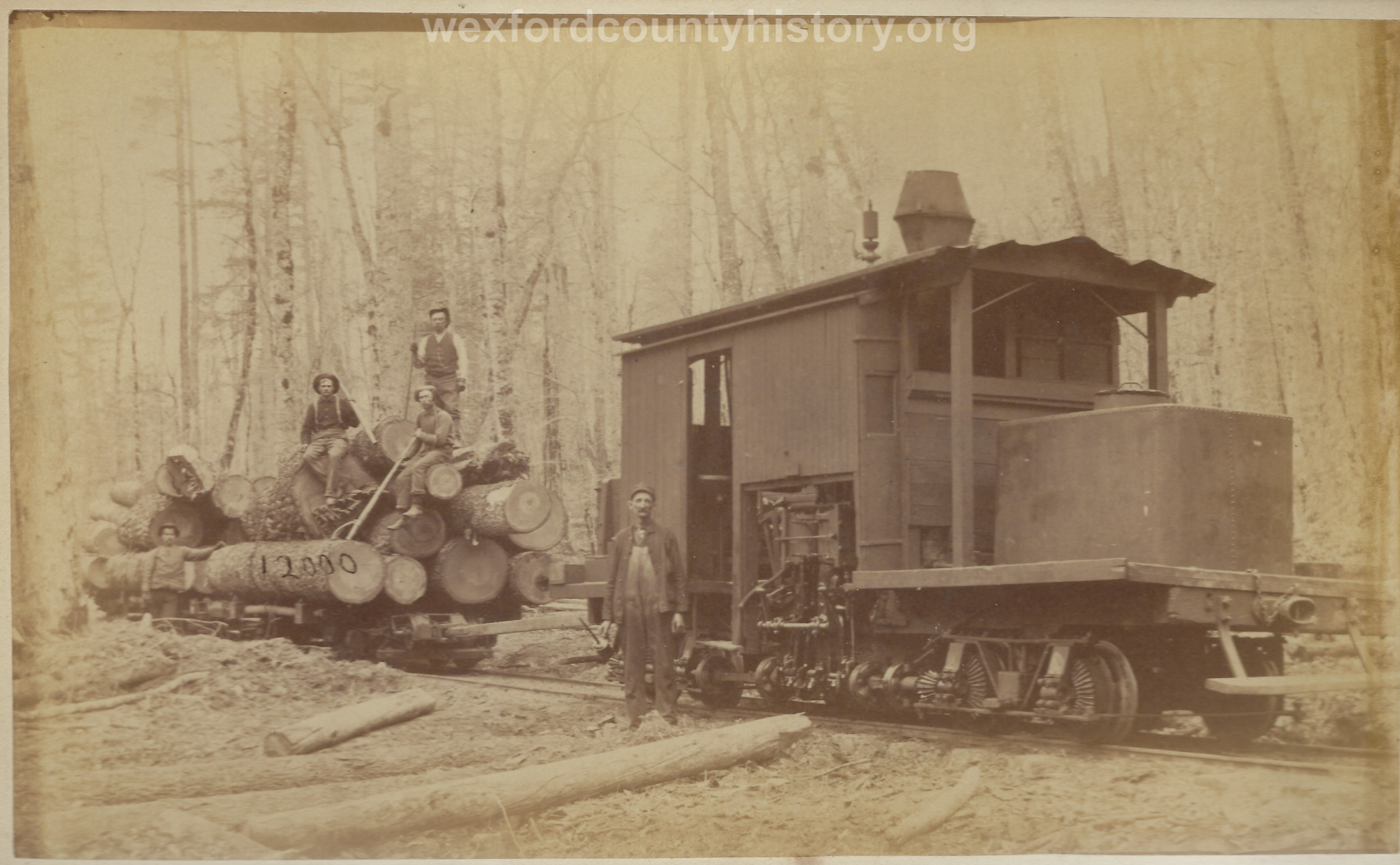 Cadillac-Lumber-Cobbs-And-Mitchell-Shay-Locomotive-Lima-Number-8