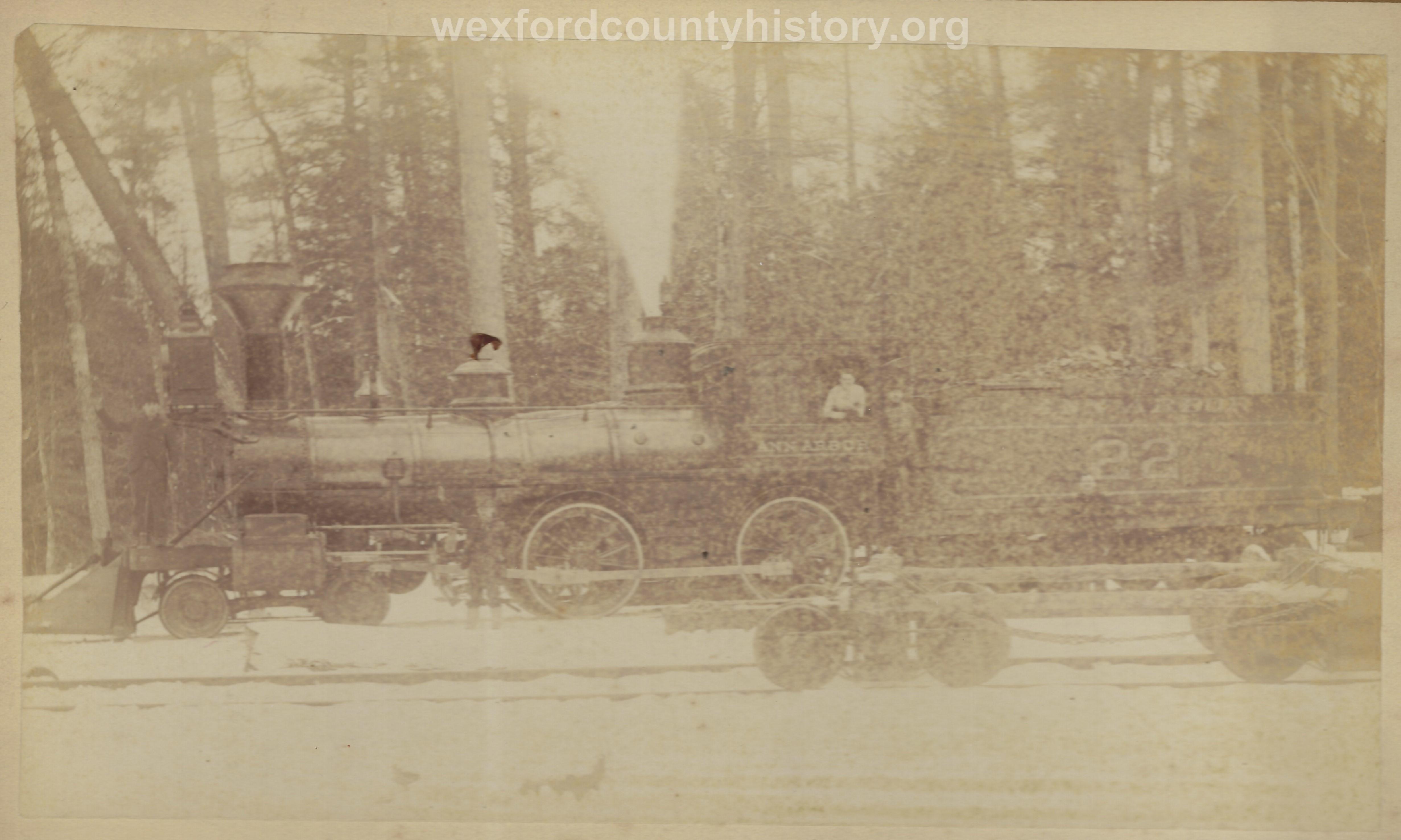 Cadillac-Railroad-Ann-Arbor-Engine
