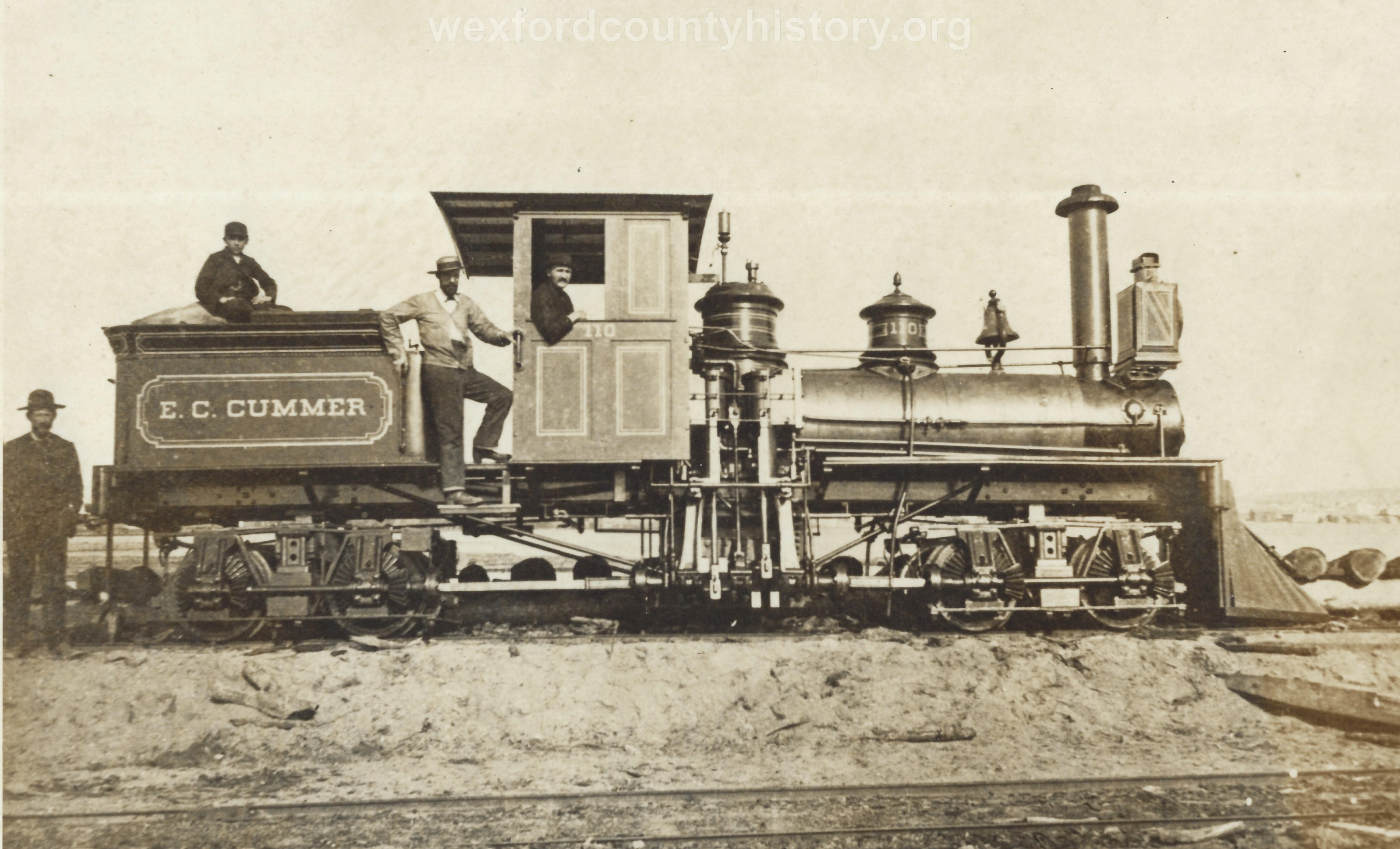 Cadillac-Railroad-Cummer-Logging-Train