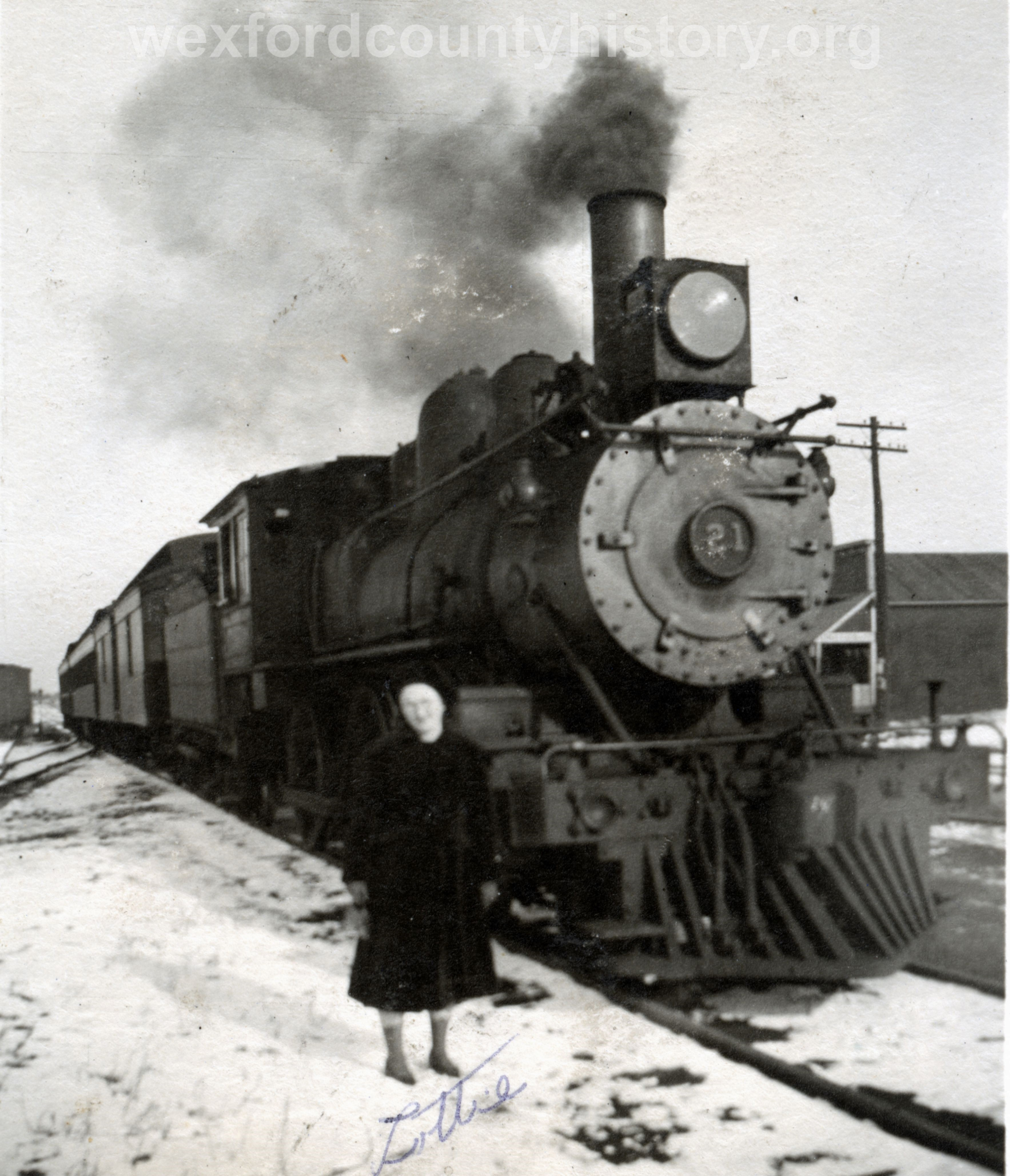 Cadillac-Railroad-Loco-21-GRIRR-Walton-jct-Wexford-mus