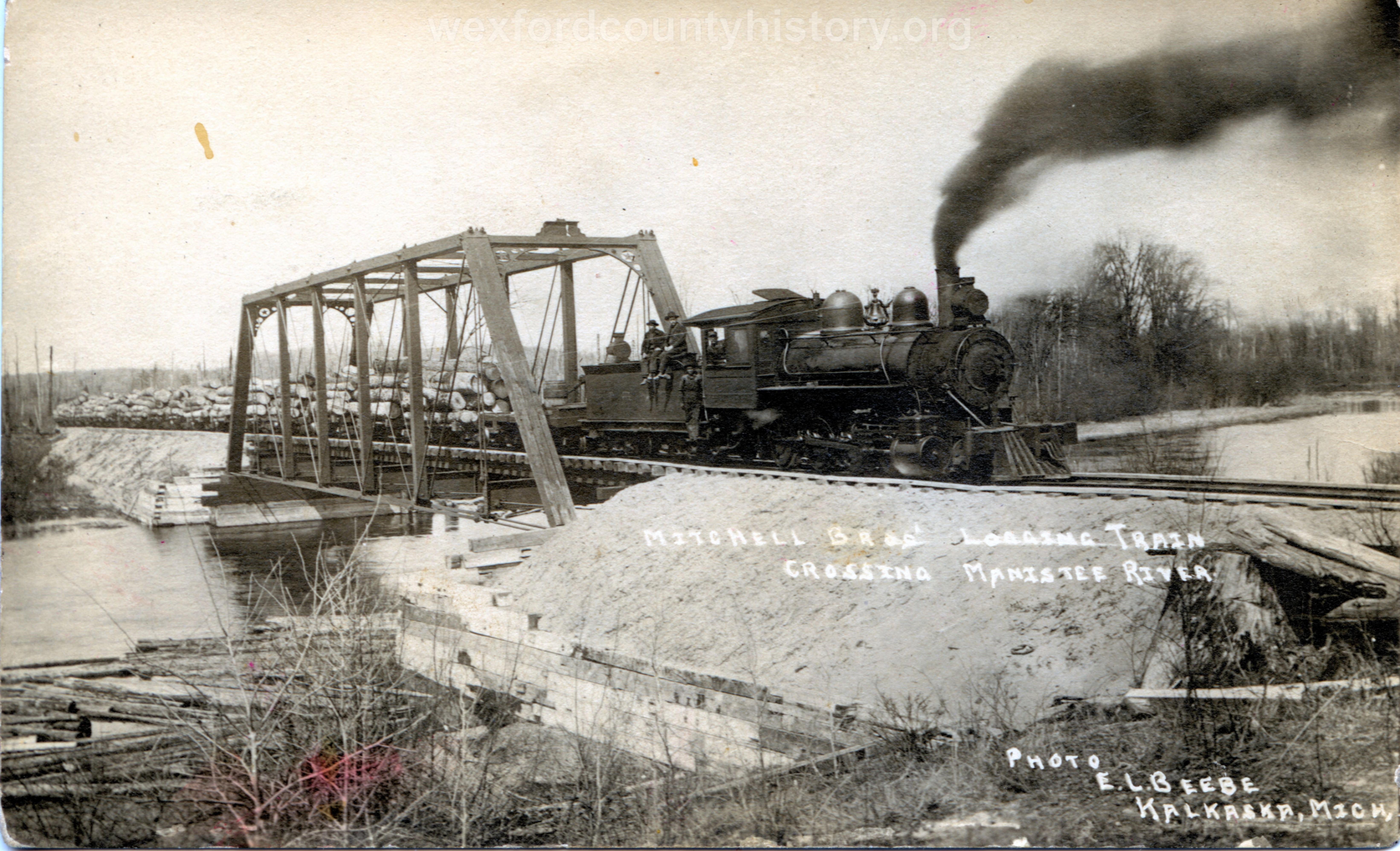 Cadillac-Railroad-Mitchell-Brothers-Logging-Train