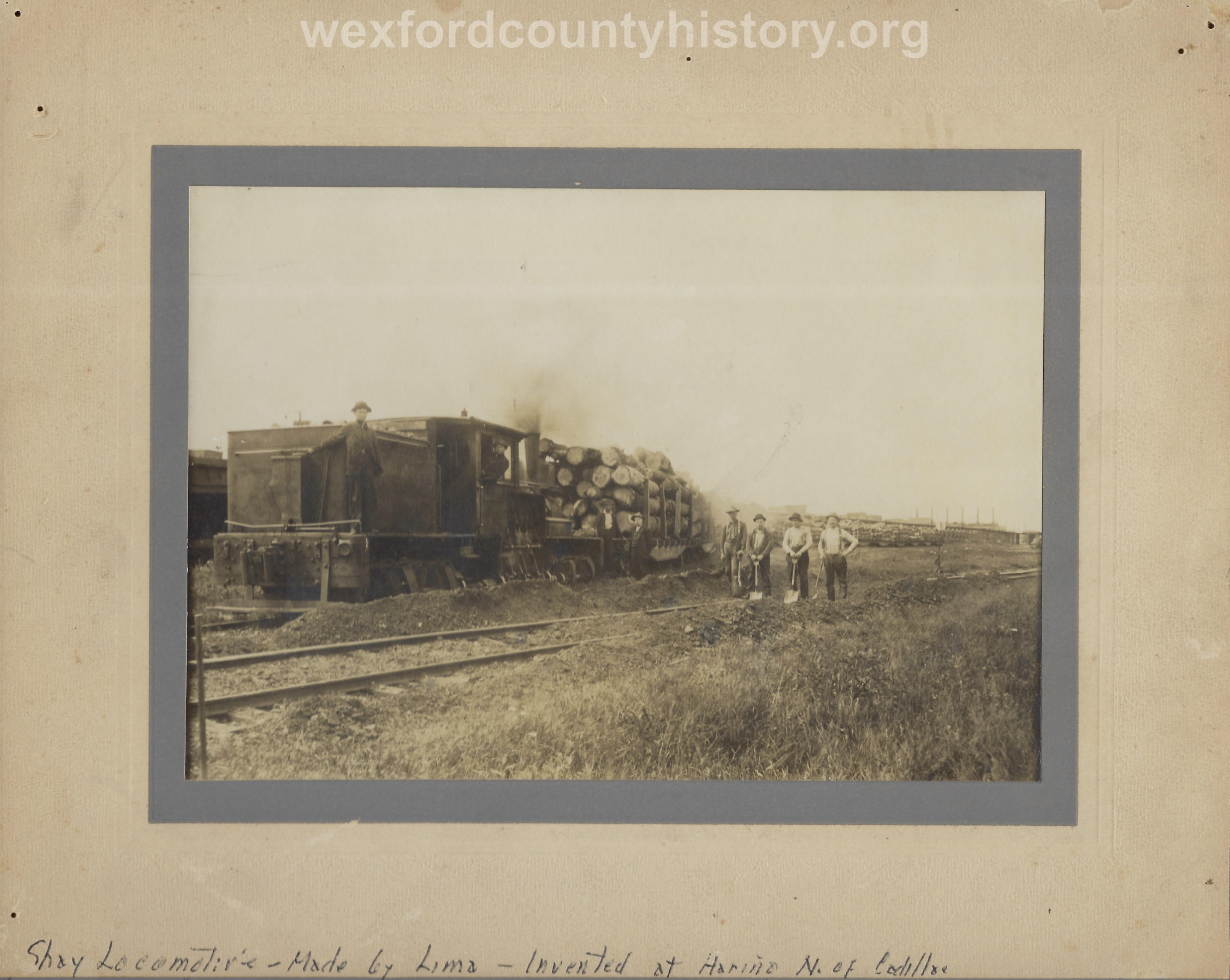 Cadillac-Railroad-Shay-Locomotive