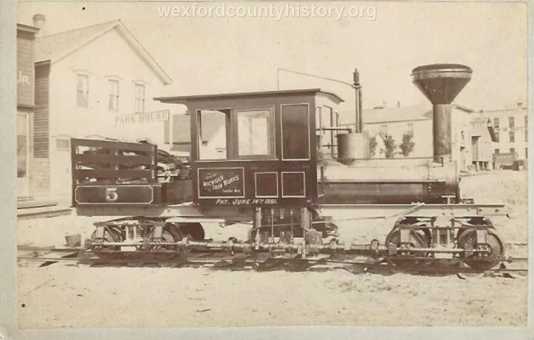 Cadillac-Railroad-Shay-Made-By-Michigan-Iron-Works