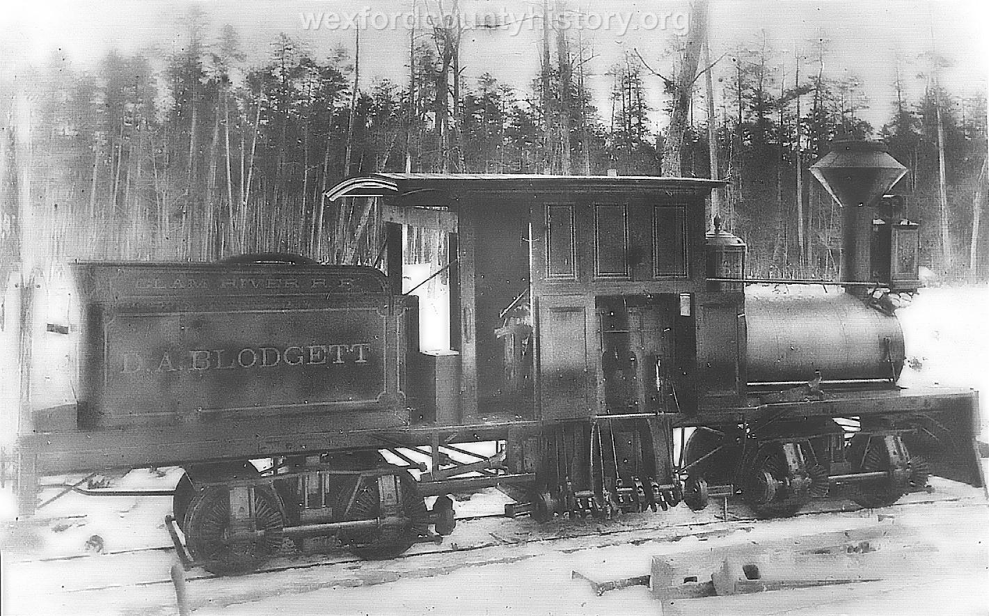 Cadillac-Railroad-Shay-on-the-clam-river-rail-road-between-Lake-City-and-Cadillac