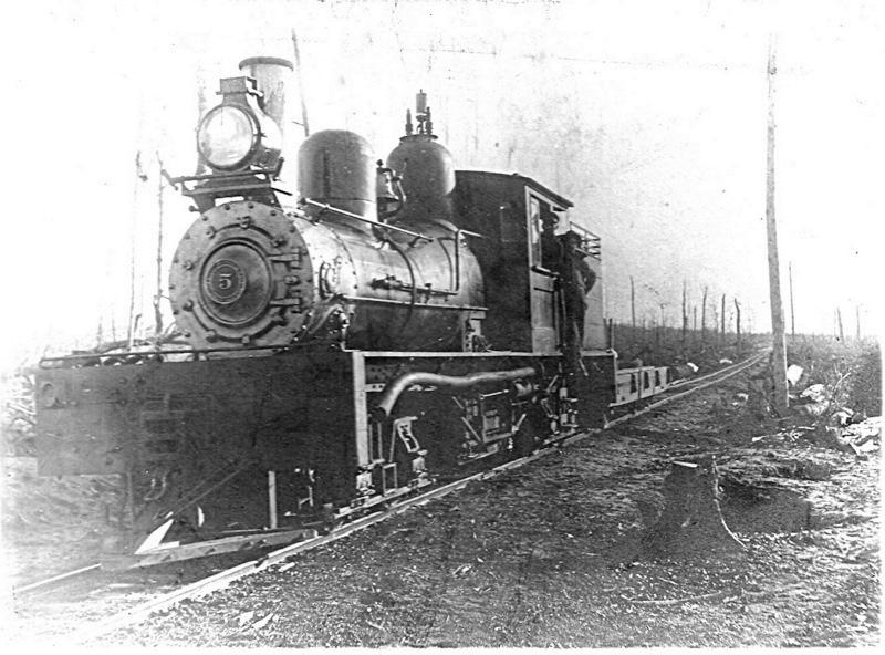 Shay Locomotive Number 5