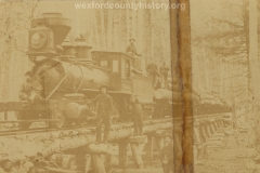 Cadillac-Lumber-Locomotive-Passing-On-Wooden-Bridge
