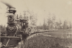Cummer Lumber Company Logging Train, c. 1891