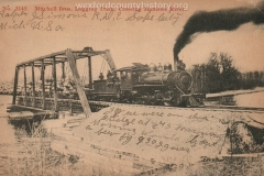 Cadillac-Lumber-Mitchell-Brothers-Logging-Train-Crossing-Manistee-River