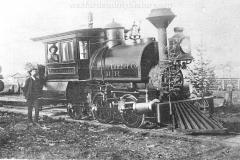 Cadillac-Railroad-Cummer-Lumber-Company-Shay