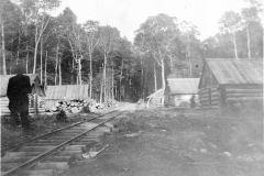 Shay Rail Track Divides the Camp