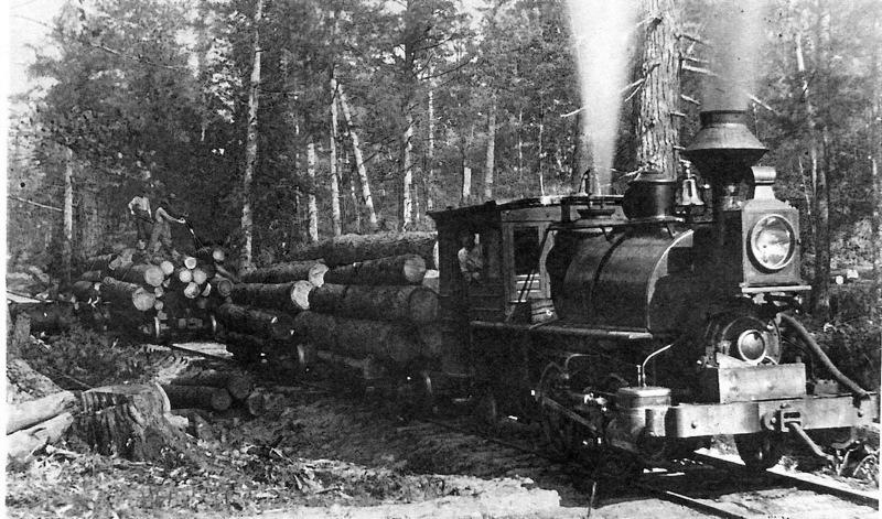 Timber Harvest Locomotive