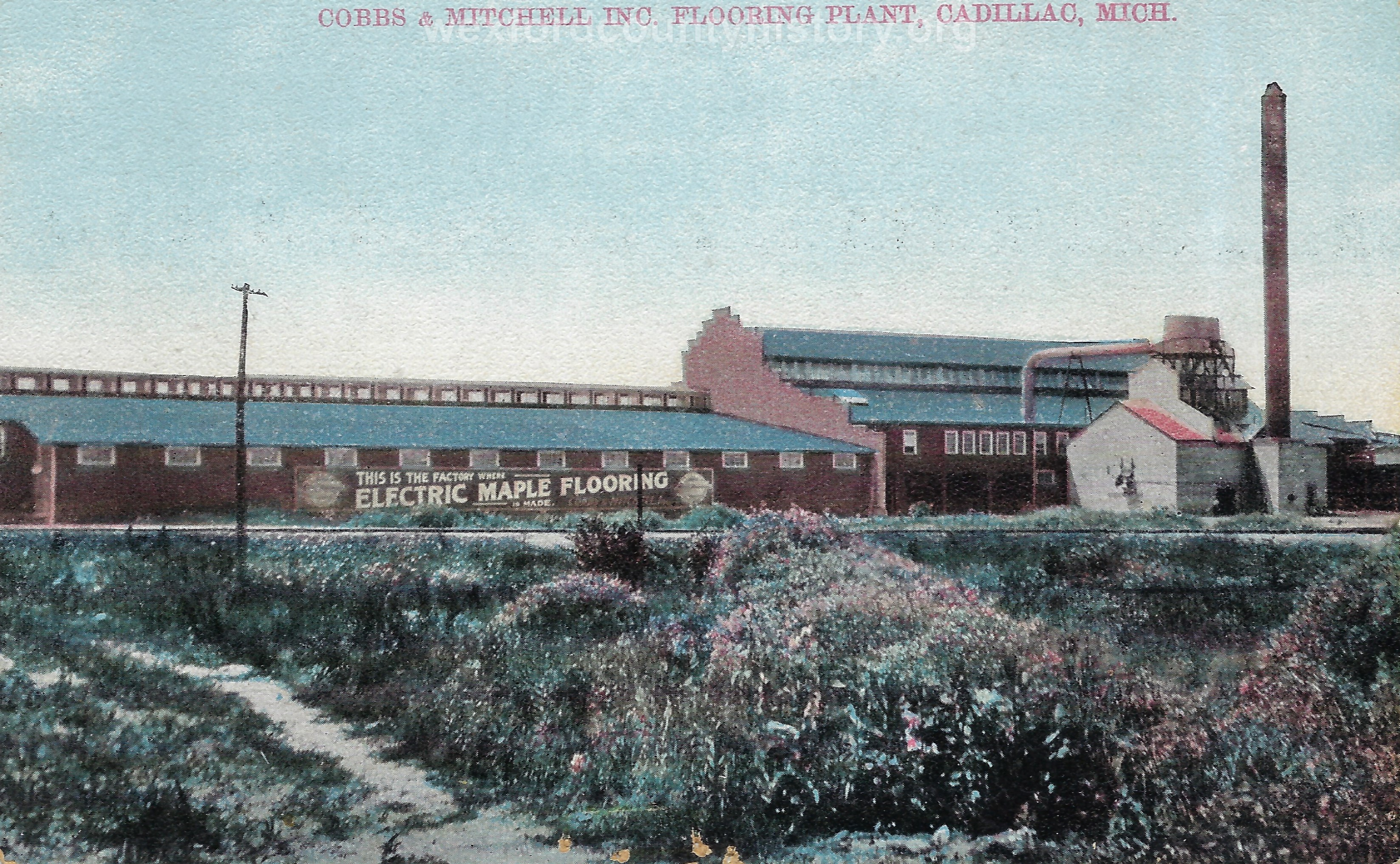 Cobbs and Mitchell Flooring Plant