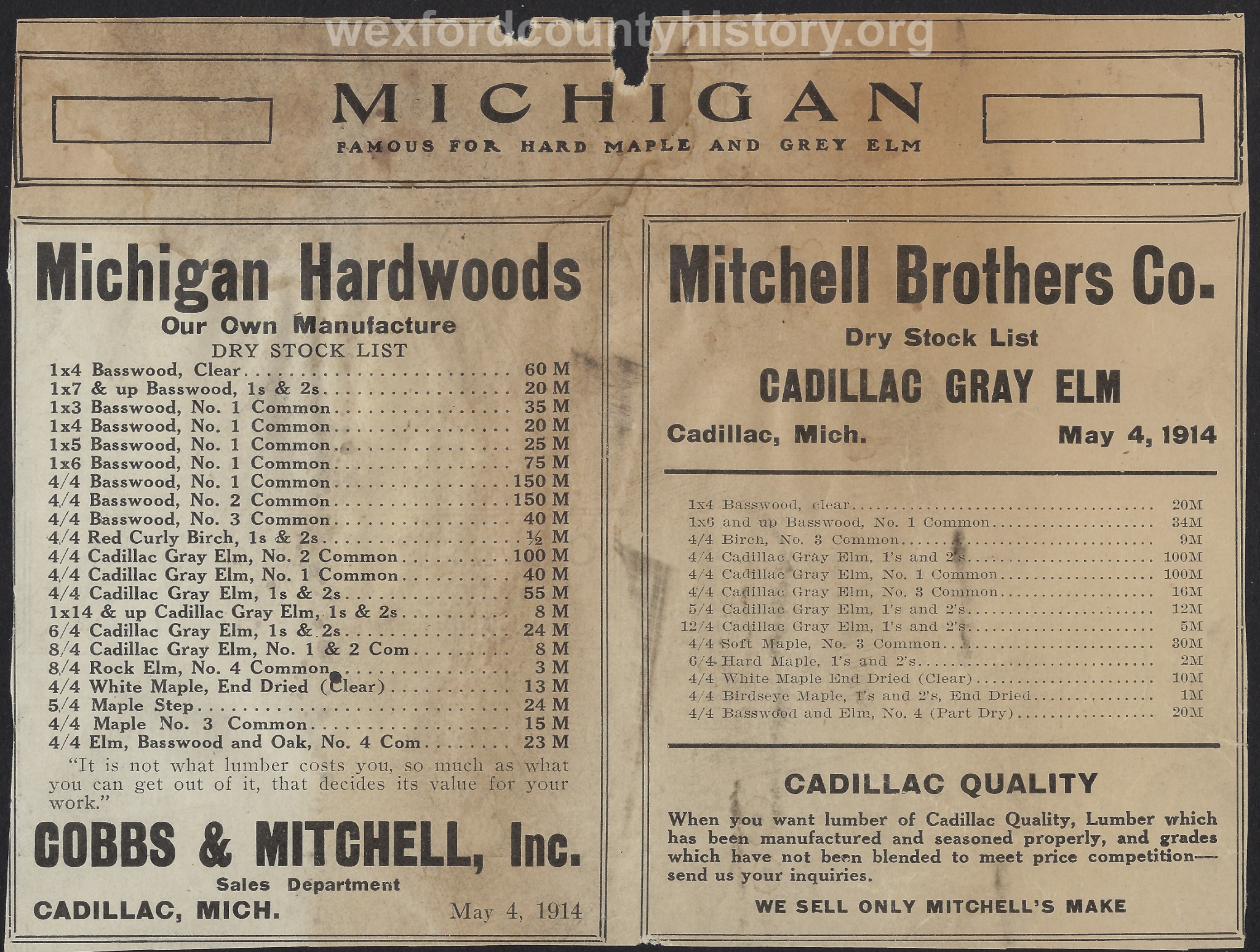 Cadillac-Business-Mitchell-Brothers-Company