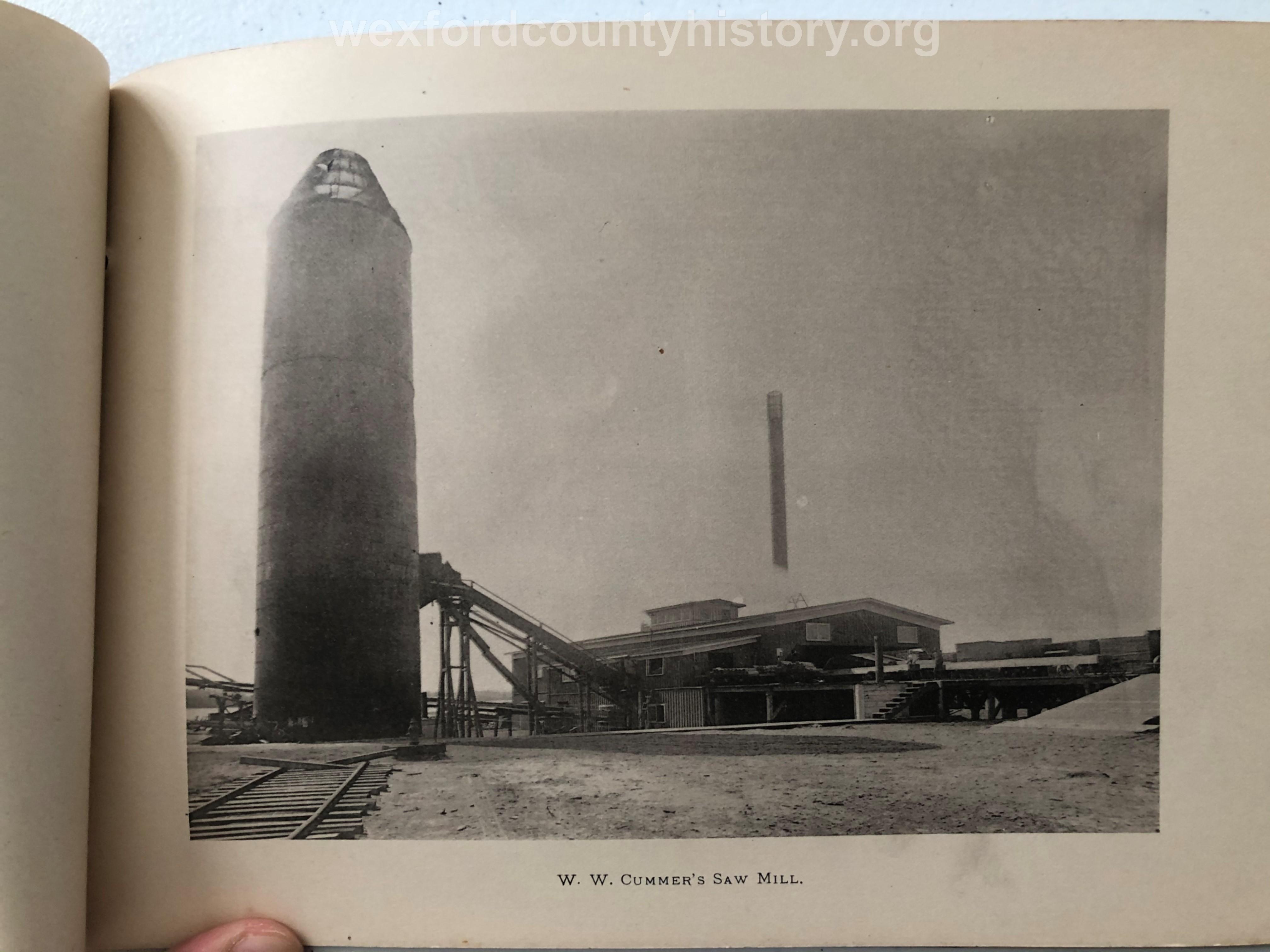 Cadillac-Lumber-W.-W.-Cummer-Saw-Mill-circa-1891